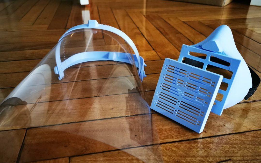 Viseras impresas en 3D – Equipo de Protección sanitaria
