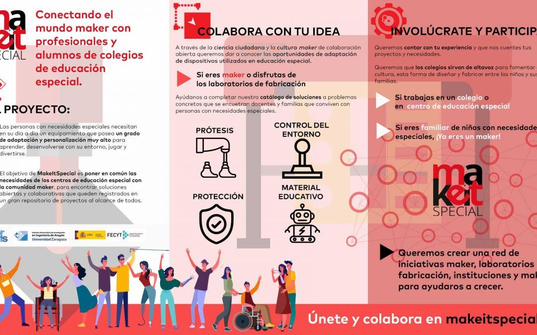 Taller Online de #MakeItSpecial en Zaragoza Activa. 18/05/2020